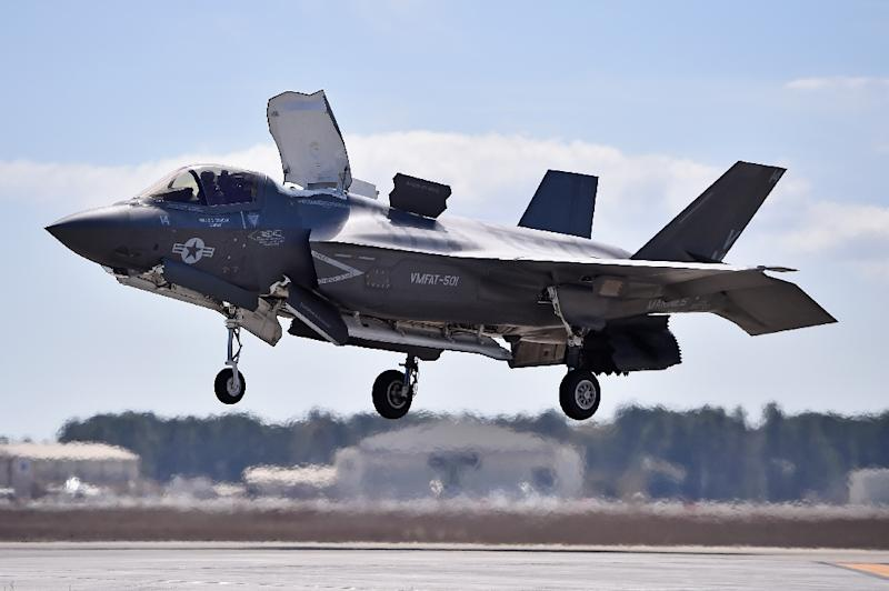 Pentagon Grounds Troubled F-35 Fighters After First Crash