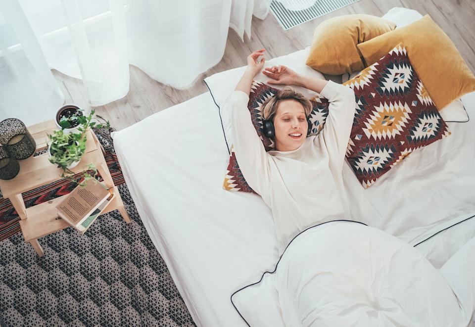 "Don't hit ""snooze"" on these Prime Day 2020 mattress deals. (Photo: Solovyova via Getty Images)"