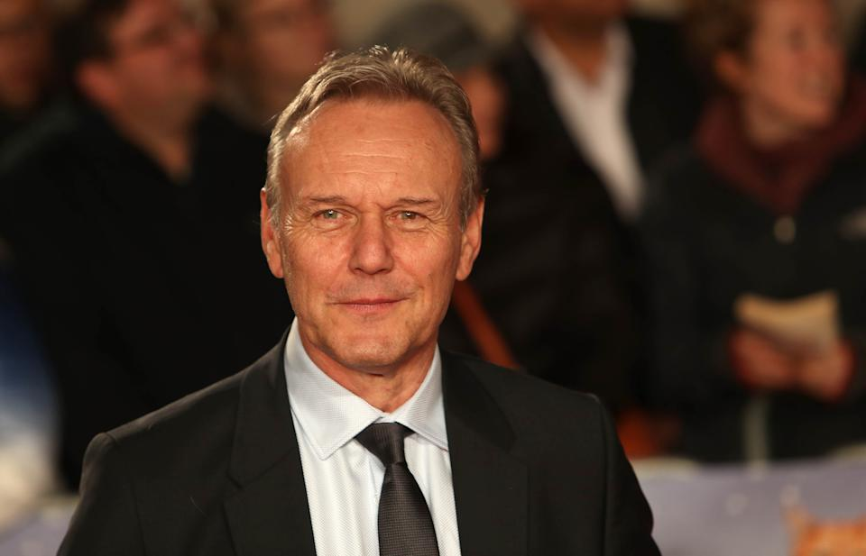 Anthony Head arrives for the world premiere of A Street Cat Named Bob, at Curzon cinema in Mayfair, London.
