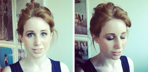We Try Out The Makeup Look That's Been Designed Especially For The London Olympics