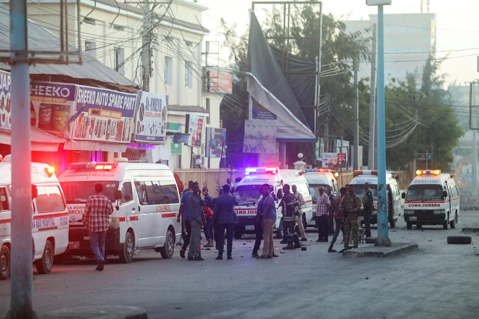Somalia: hotel in central Mogadishu attacked by radical Islamists