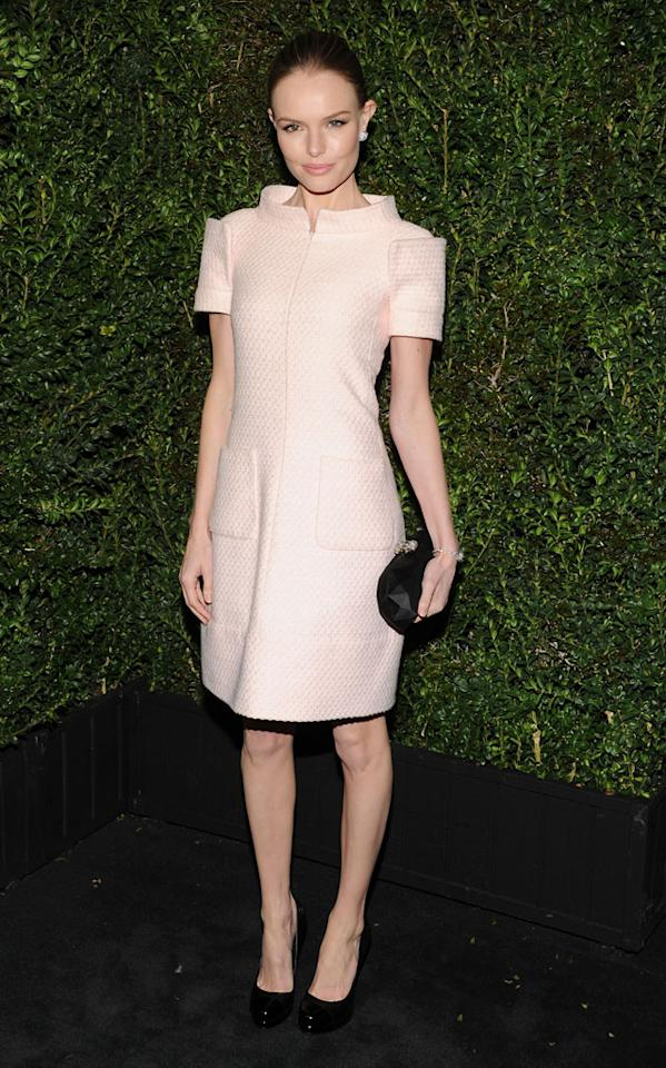 Kate Bosworth attends the Chanel Pre-Oscar dinner at Madeo Restaurant on February 23, 2013 in Los Angeles, California.