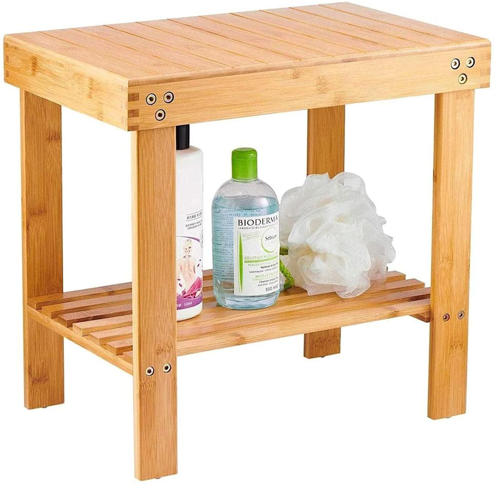 <p>This <span>VaeFae Bamboo Stool</span> ($35) can be used in so many ways.</p>