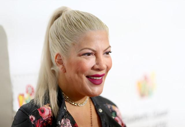 Tori Spelling Celebrates Son's First Birthday Just Days After Her Nervous Breakdown