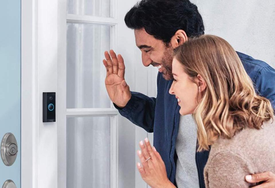 Ring-Video-Doorbell-Wired - Credit: Amazon