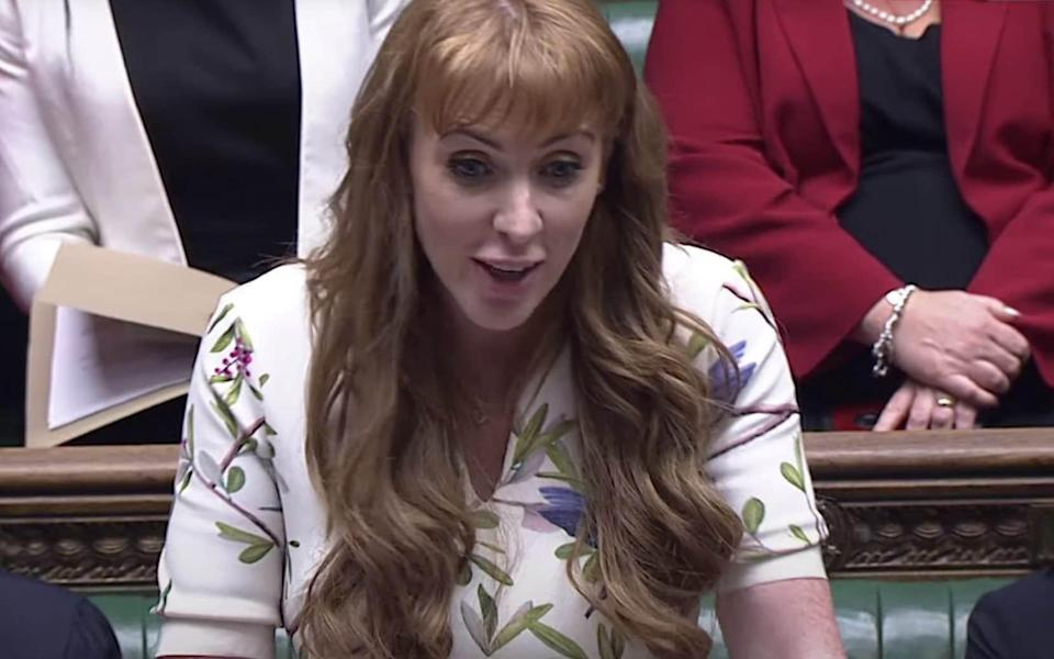 Angela Rayner also appeared to be having more fun than her boss usually does