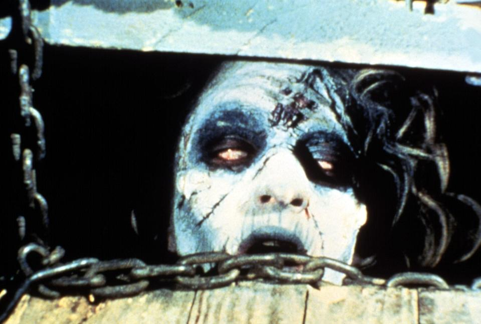 "<h1 class=""title"">THE EVIL DEAD, Ellen Sandweiss, 1981</h1><cite class=""credit"">Courtesy Everett Collection</cite>"