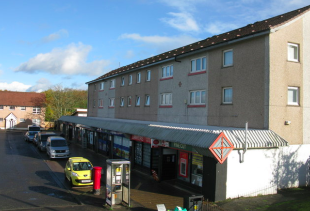 <em>The youngsters, aged between 12 and 14, were standing on a pavement in the Castlemilk area of Glasgow (Geograph/stock photo)</em>