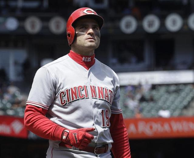 Reds first baseman Joey Votto enjoys playing the villain, and won't allow Jerry Seinfeld or David Letterman to spoil his baseball persona. (AP)