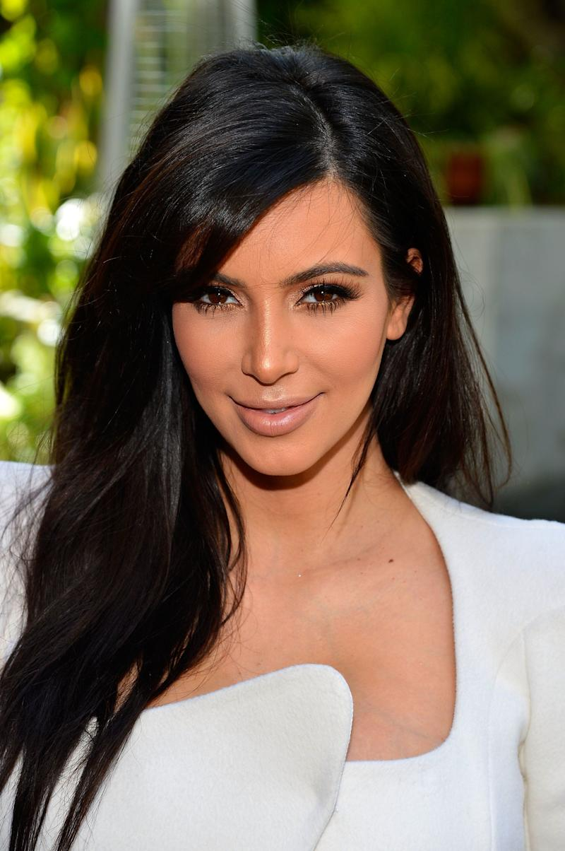 BEVERLY HILLS, CA - MARCH 02: Television Personality Kim Kardashian attends DuJour magazine's Spring issue collaboration with Kim Kardashian and Bruce Weber at the Four Seasons Hotel Los Angeles at Beverly Hills on March 2, 2013 in Beverly Hills, California. (Photo by Frazer Harrison/Getty Images)