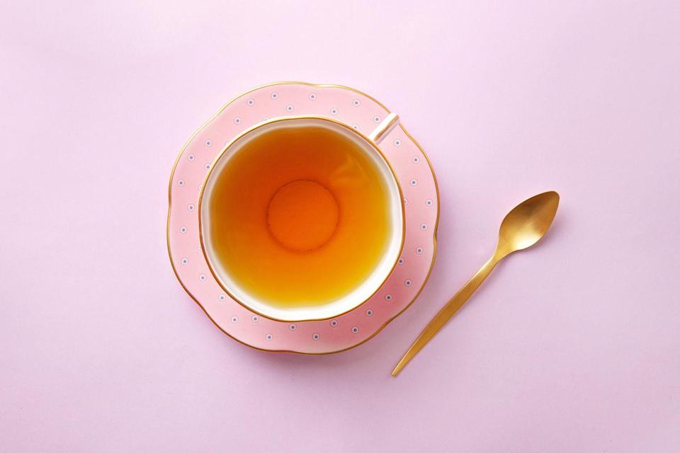 """<p>People worldwide have sipped tea for thousands of years because of its many health perks. <a href=""""https://www.prevention.com/health/a20514744/herbal-tea-health-benefits/"""" rel=""""nofollow noopener"""" target=""""_blank"""" data-ylk=""""slk:Tea"""" class=""""link rapid-noclick-resp"""">Tea</a> relaxes your muscles, soothes stomach issues, and may even help you live longer. </p>"""