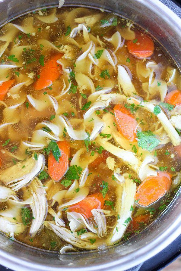 "<strong>Get the <a href=""http://www.number-2-pencil.com/2016/12/12/instant-pot-chicken-noodle-soup/"" rel=""nofollow noopener"" target=""_blank"" data-ylk=""slk:Instant Pot Chicken Noodle Soup recipe"" class=""link rapid-noclick-resp"">Instant Pot Chicken Noodle Soup recipe</a>&nbsp;from Number 2 Pencil</strong>"