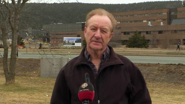 Eugene Nippard is president of Newfoundland and Labrador's Air Ambulance Medical Transport Advocacy Group. (Heather Gillis/CBC - image credit)