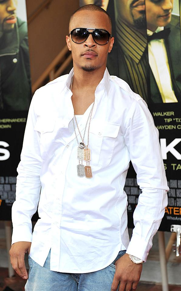 """September 25: T.I. (aka Clifford Joseph Harris Jr.) turns 30 Moses Robinson/<a href=""""http://www.wireimage.com"""" target=""""new"""">WireImage.com</a> - August 24, 2010"""