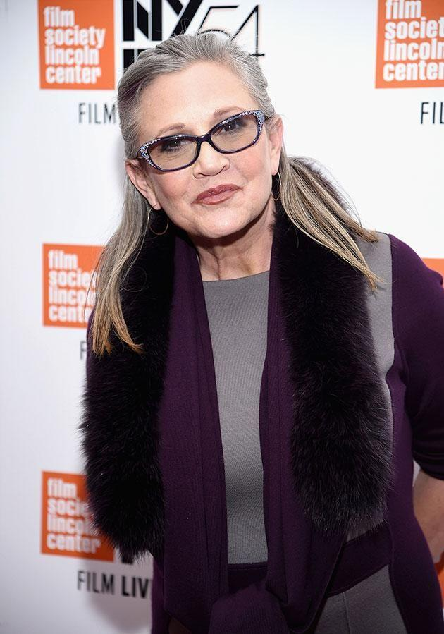 Carrie's brother says her condition has moved from critical to stable. Photo: Getty