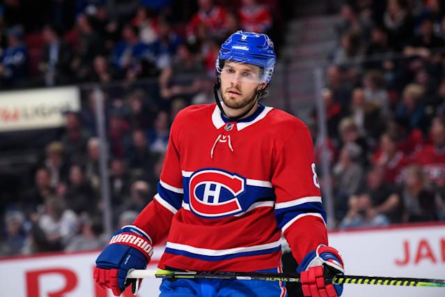 The Habs will need Ben Chariot to produce with Shea Weber out. (Photo by Vincent Ethier/Icon Sportswire via Getty Images)