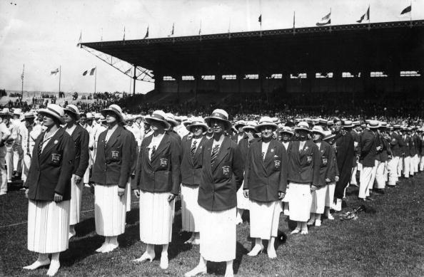 <p>The low-key opening ceremony of the Summer Games was observed by a crowd of 45,000 at the Olympic Stadium of Colombes. Movie lovers, take note: This was the Olympics where British runners Harold Abrahams and Eric Liddell got the gold for the 100 meter and 400 meter events respectively, later inspiring the 1981 movie <em>Chariots of Fire</em>.</p>