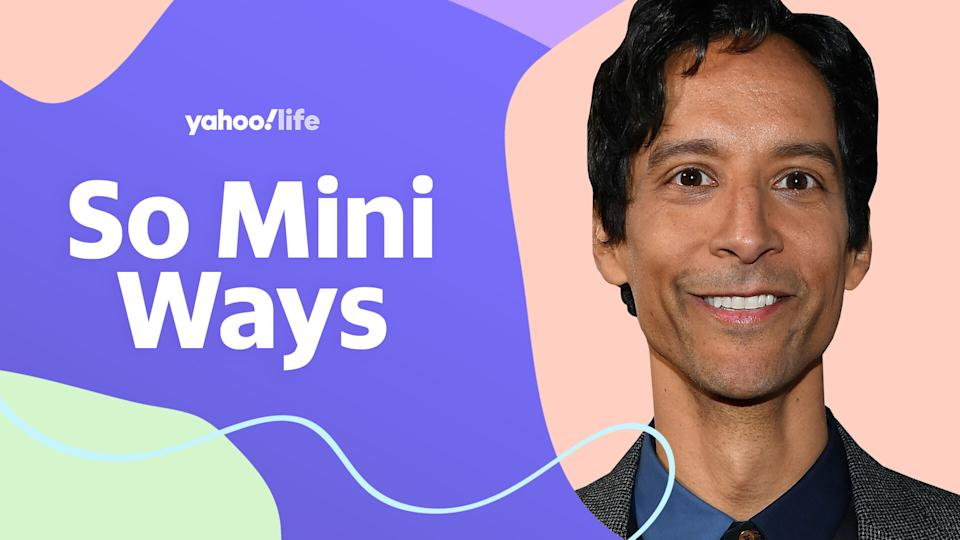 Danny Pudi opens up about parenting twins. (Photo: Getty; designed by Quinn Lemmers)