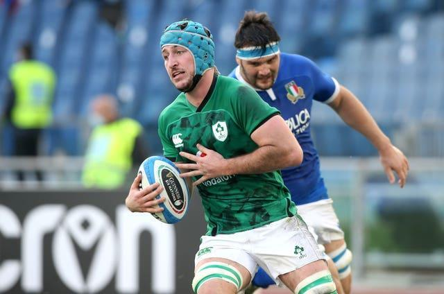 Will Connors scored two of Ireland's six tries
