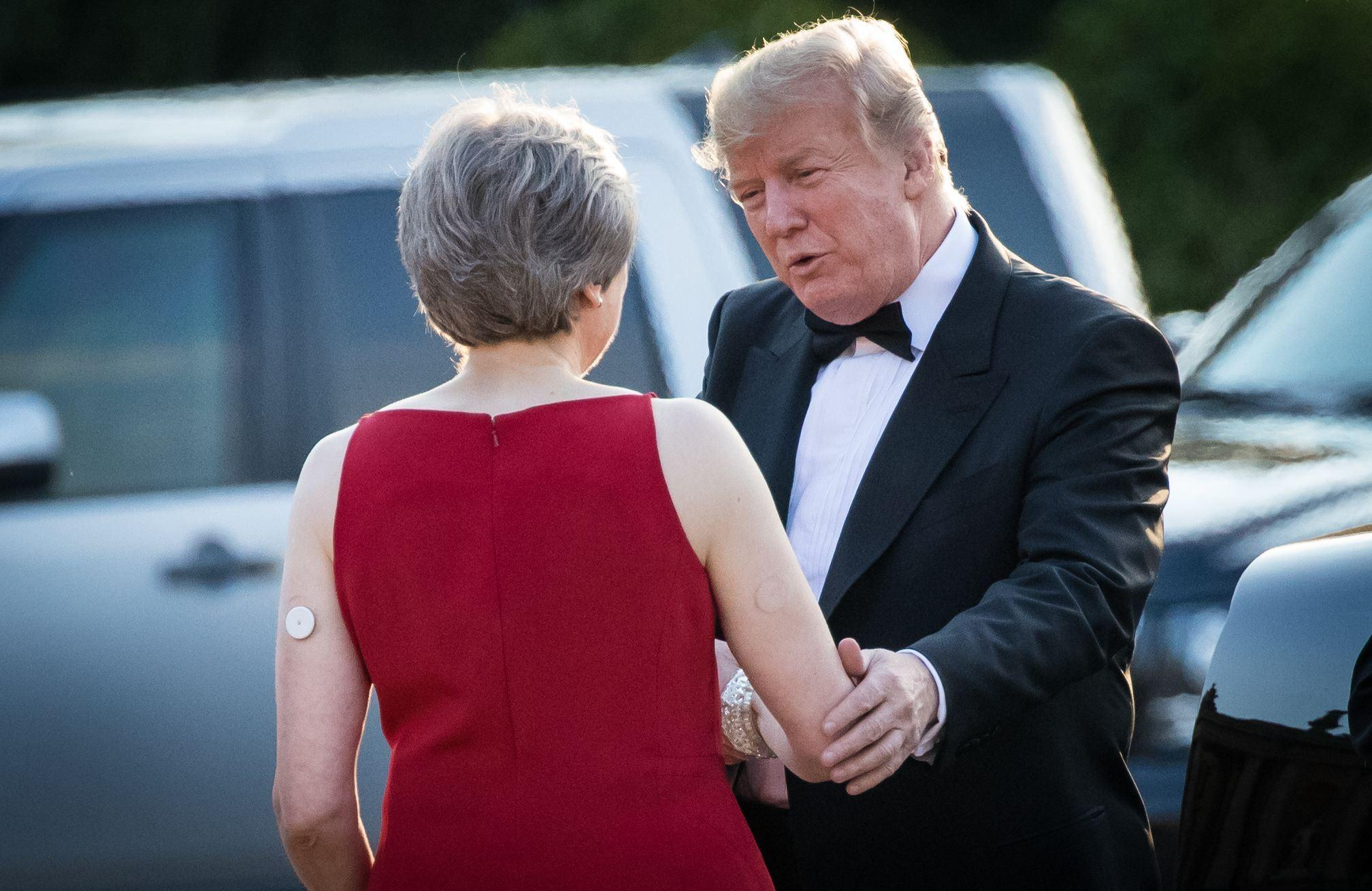 Protests gear up to greet Trump on United Kingdom  state visit