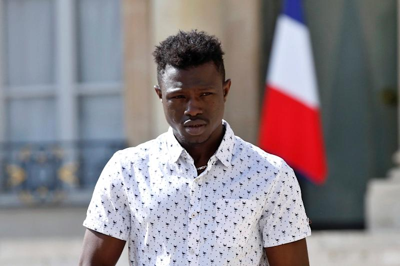 22 Year Old Mamoudou Gassama Won Global Acclaim For Rescuing A Boy Dangling From The