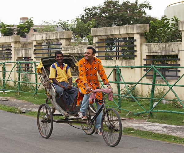 """<p class=""""MsoNormal"""">Cycle Rickshaws are all over Kolkata's streets. I randomly spotted a fellow resident; take the rickshawala for a ride in his own rickshaw to brighten up his day. Crazy? Yes... But did it make the rickshawala happy ? Absolutely, He was smiling like a child.</p>"""
