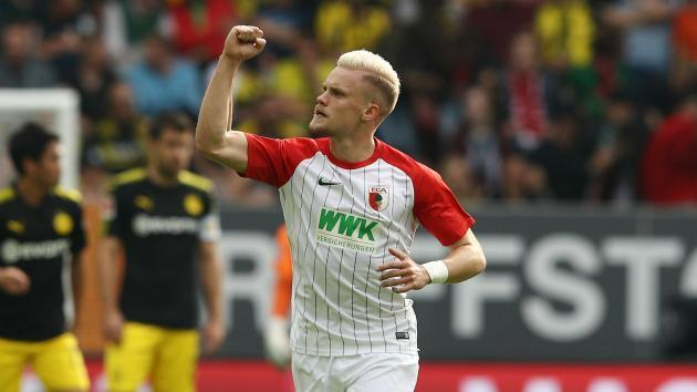 <p>Augsburg star Max keen on Premier League move</p>