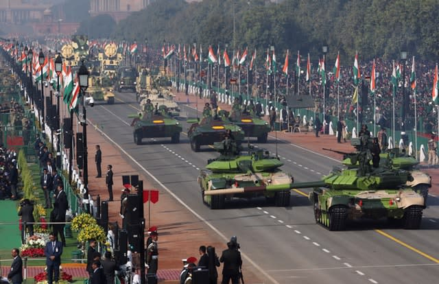 India celebrates 70th Republic Day | News | DW