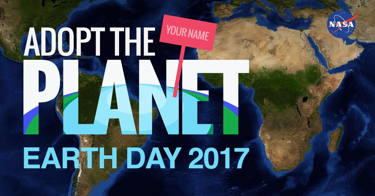 Grab Piece of the Planet with NASA's Earth Day Adoption