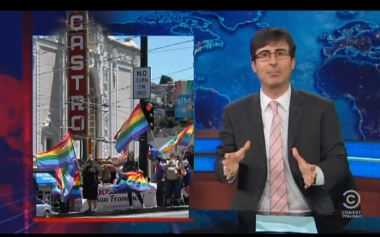 John Oliver on Supreme Court DOMA Decision: Now Gays Can File Taxes Together!