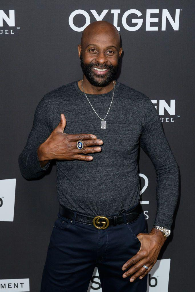 """<p>Few people can boast about being in the same organization as NFL Hall of Famer Jerry Rice, but the <a href=""""https://www.watchtheyard.com/sigmas/jerry-rice-phi-beta-sigma/2/"""" rel=""""nofollow noopener"""" target=""""_blank"""" data-ylk=""""slk:members of Phi Beta Sigma"""" class=""""link rapid-noclick-resp"""">members of Phi Beta Sigma</a> can call him a brother. During his time at Mississippi Valley State University, he became a member of the fraternity. </p>"""