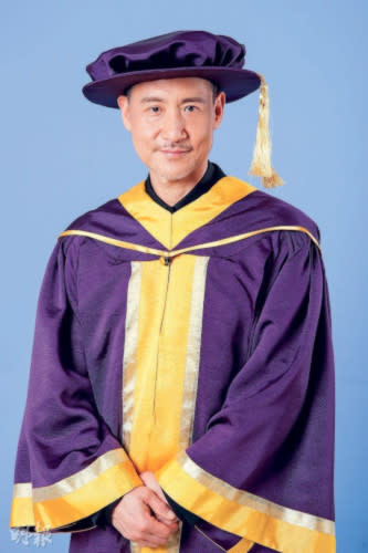 Jacky Cheung receives honorary doctorate