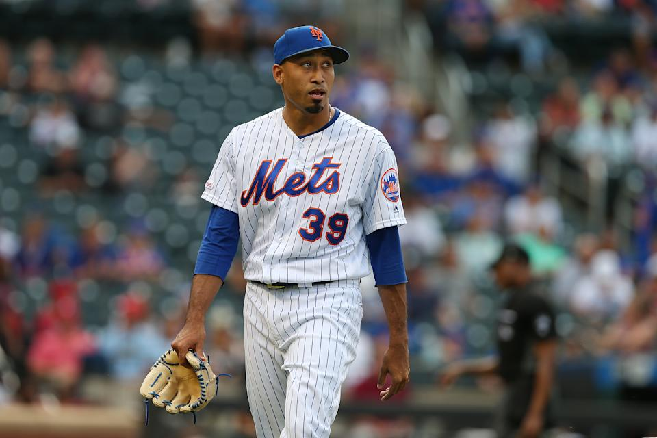 Edwin Diaz #39 of the New York Mets