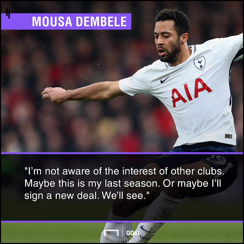 Mousa Dembele future stay or go