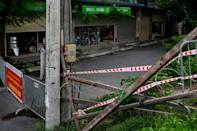 Vietnam's capital has been in lockdown for more than a month (AFP/Manan VATSYAYANA)