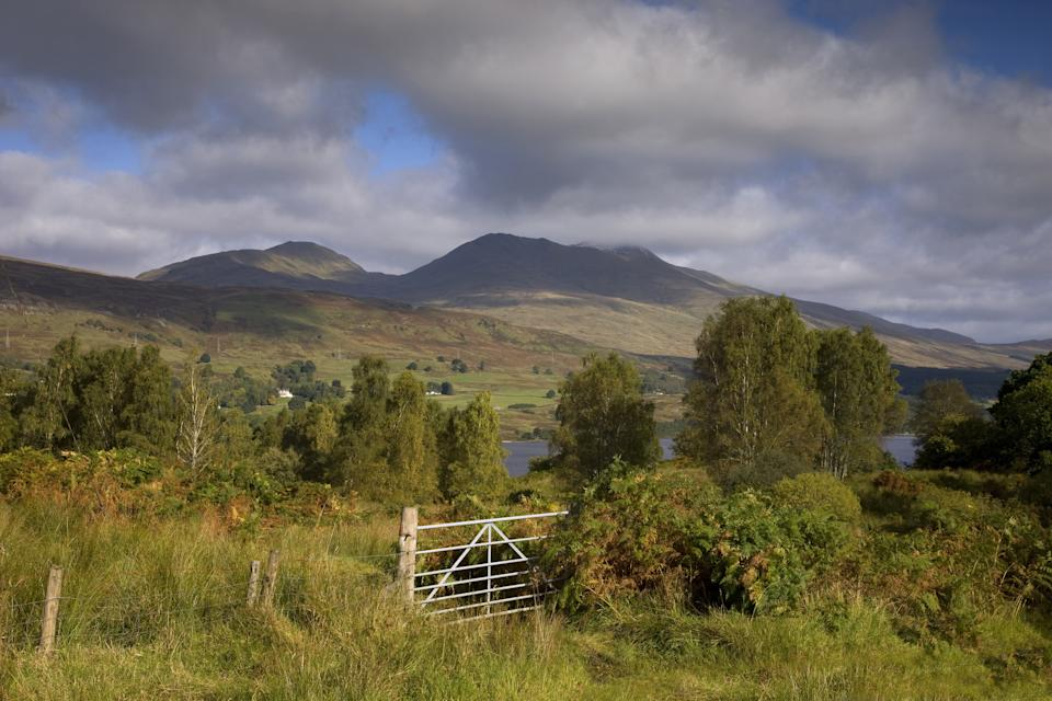Ben Lawers mountain from the south, Loch tay, Perthshire, Scotland, United Kingdom. (Photo by: Universal Images Group via Getty Images)