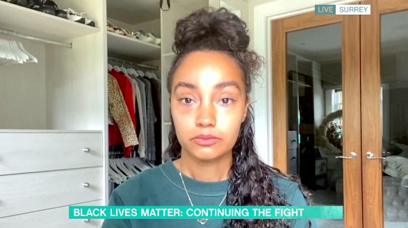 Leigh-Anne Pinnock said she has released years of pain by speaking out against racism. (ITV)