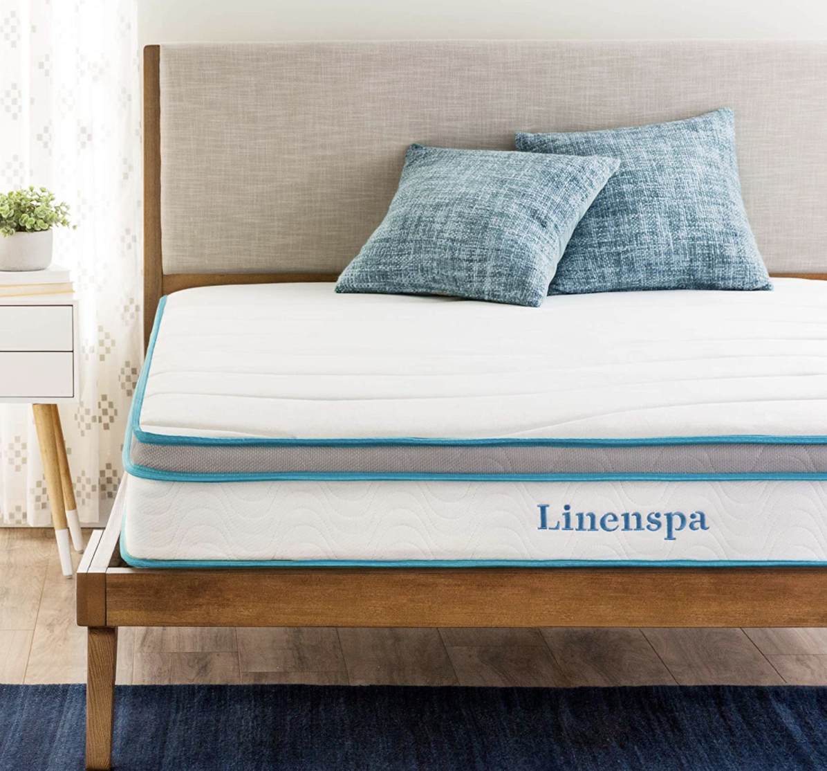 Sleep is the easiest (and laziest) way to take good care of yourself. A great mattress is step one. (Photo: Amazon)