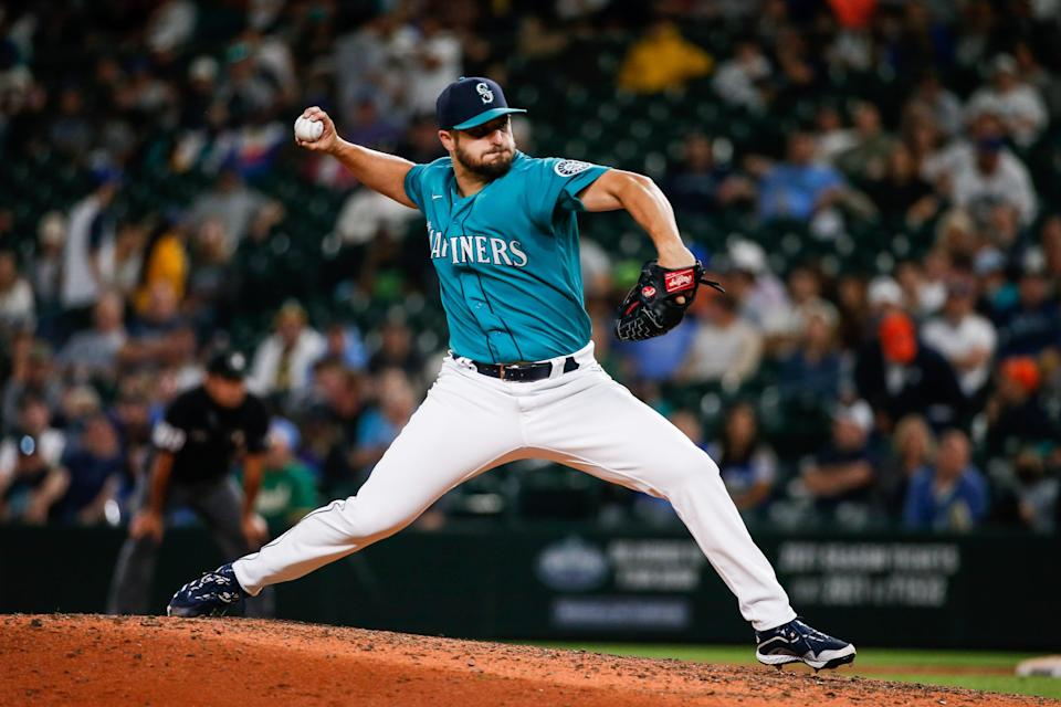 Mariners reliever Kendall Graveman has converted 10 of  12 save chances this season with 34 strikeouts in 33 innings.