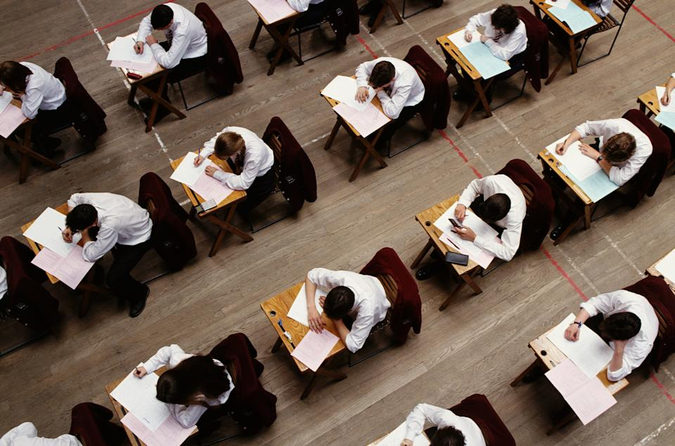 Professor Phillips points out that stressed students often get sick before exams. Source: Getty