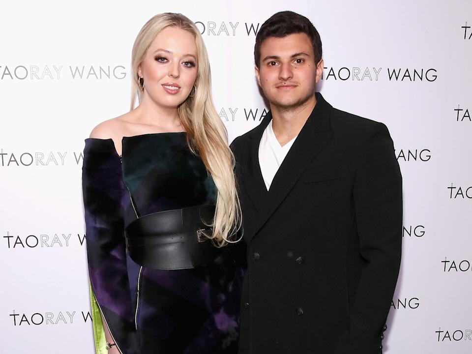 <p>Tiffany Trump got engaged at the White House on her father's last day in office</p> (Getty Images for Taoray Wang)