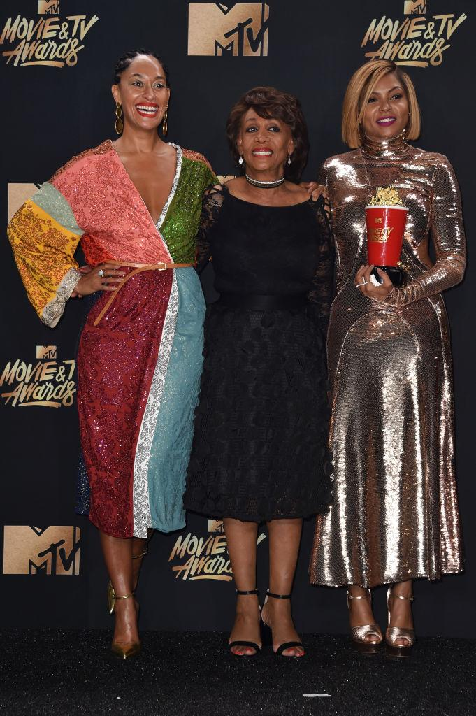 taraji p henson tracee ellis ross maxine waters