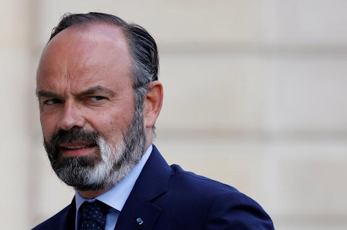 Image: French Prime Minister Edouard Philippe arrives for a meeting at the Elysee Palace in Paris, France (Christian Hartmann / Reuters)