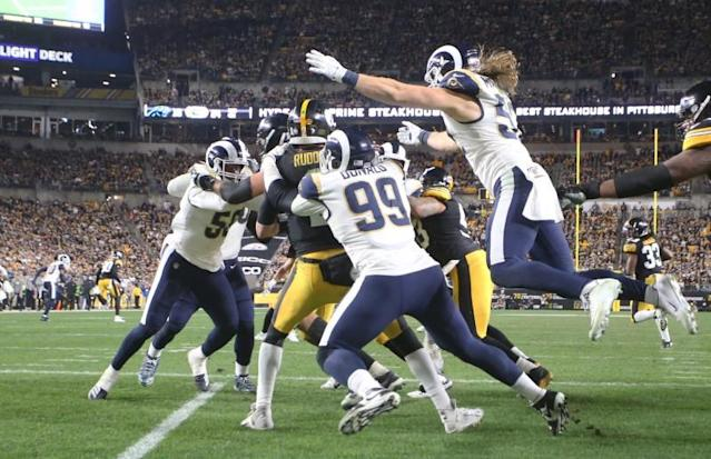 NFL: Los Angeles Rams at Pittsburgh Steelers