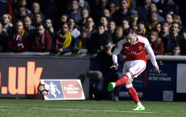<span>Like Janssen, Arsenal's Lucas Perez has also struggled for starts</span> <span>Credit: AP </span>