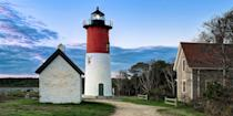 """<p><strong>Best for Lighthouses</strong></p><p>Cape Cod is the quintessential New England summer playground, with gray-shingled cottages, dune-lined beaches, whale-watching tours, and plenty of historic lighthouses along this arm-shaped peninsula, including Provincetown's Race Point Light and Eastham's Nauset Light, the inspiration for the Cape Cod Potato Chips logo. </p><p><strong><em>Where to Stay: </em></strong><a href=""""https://go.redirectingat.com?id=74968X1596630&url=https%3A%2F%2Fwww.tripadvisor.com%2FHotel_Review-g41778-d89821-Reviews-Harbor_Hotel_Provincetown-Provincetown_Cape_Cod_Massachusetts.html&sref=https%3A%2F%2Fwww.countryliving.com%2Flife%2Fg37186621%2Fbest-places-to-experience-and-visit-in-the-usa%2F"""" rel=""""nofollow noopener"""" target=""""_blank"""" data-ylk=""""slk:Harbor Hotel Provincetown"""" class=""""link rapid-noclick-resp"""">Harbor Hotel Provincetown</a>, <a href=""""https://go.redirectingat.com?id=74968X1596630&url=https%3A%2F%2Fwww.tripadvisor.com%2FHotel_Review-g41499-d89650-Reviews-Chatham_Bars_Inn-Chatham_Cape_Cod_Massachusetts.html&sref=https%3A%2F%2Fwww.countryliving.com%2Flife%2Fg37186621%2Fbest-places-to-experience-and-visit-in-the-usa%2F"""" rel=""""nofollow noopener"""" target=""""_blank"""" data-ylk=""""slk:Chatham Bars Inn"""" class=""""link rapid-noclick-resp"""">Chatham Bars Inn</a></p>"""