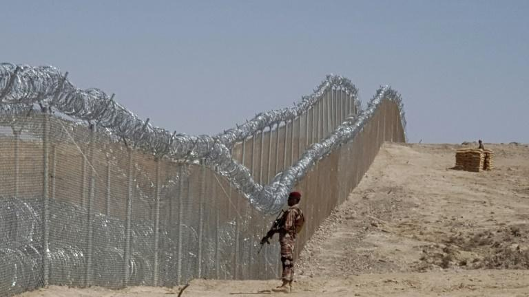 A fence along the Pakistan-Iran border is being built officials say. One is already in place on the Pakistan-Afghan border