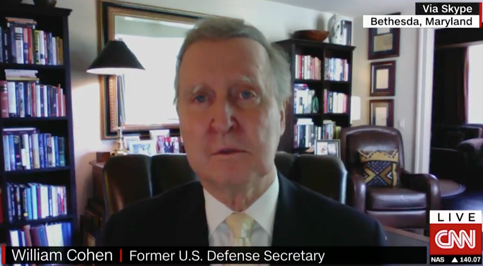 William Cohen, former secretary of defence, says a second Trump administration will 'take us down the road to tyranny': CNN