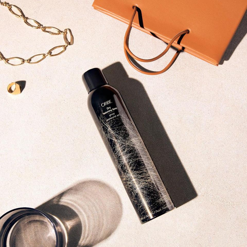 <p>When you want to give your hair a little extra oomph, go for this <span>Oribe Dry Texturizing Spray</span> ($48).</p>