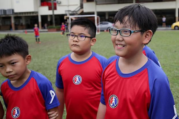 Team captain Victor Tan (right) was inspired by the movie 'Ola Bola.' — Picture by Choo Choy May